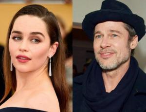 Bad Pitt ofreció millonaria cifra para tener cita con Emilia Clarke
