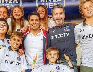 Albomanía, famosos celebraron junto a sus hijos la estrella 32 de Colo Colo