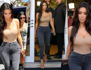 """Los """"3 mandamientos"""" con los que Kim Kardashian rehízo su figura"""