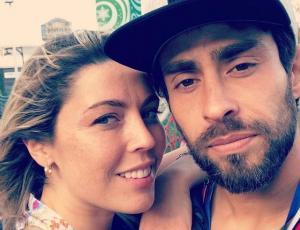 Daniela Aránguiz y Mago Valdivia fueron al cambio de mando
