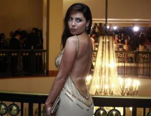 Daniela Aránguiz regaló lujoso vestido que lució en la Gala de Viña