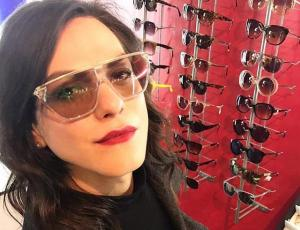 Daniela Vega muestra la tendencia del momento en maquillaje