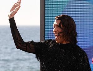 Di Mondo entró como Jennifer Lopez al estudio de Bienvenidos