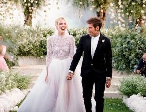 Stefano Gabbana destruyó el vestido de novia de Chiara Ferragni