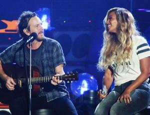 Pearl Jam lanzará dos singles junto a Beyoncé
