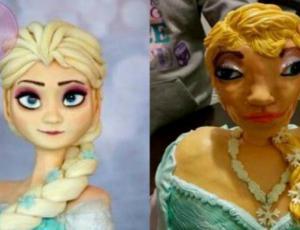 Estos pasteles inspirados en Disney trauman a cualquiera