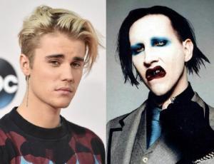 Justin Bieber se disculpa con Marilyn Manson tras conflicto por una camiseta