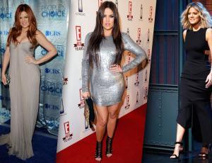 La evolución del estilo de Khloé Kardashian