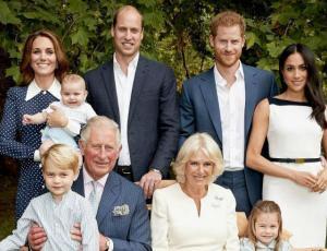 Los duques de Cambridge y Sussex celebran la navidad con fotos familiares