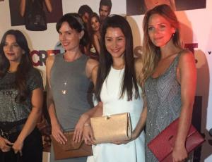 "El look de las famosas en evento de carteras ""Secret"""