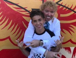 Hijo de Leonardo Farkas debuta como futbolista en Estados Unidos