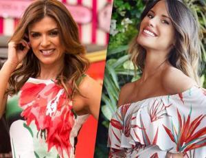 Ivette Vergara repitió vestido que Gala Caldirola usó en la alfombra roja de Viña