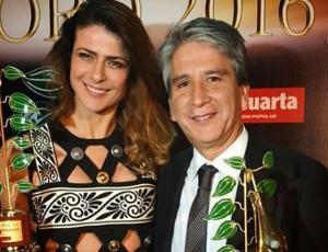 """Tonka Tomicic y """"En Su Propia Trampa"""" se llevaron el Copihue De Oro"""