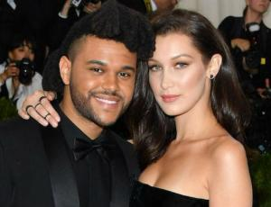 Bella Hadid y The Weeknd enamorados en Paris
