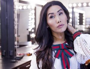 """El lado más sensible de Gia Gunn, la """"china más latina"""""""