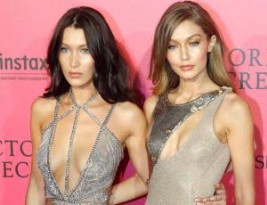 Gigi y Bella Hadid posan desnudas para la revista Vouge británica