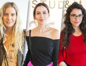 Rostros de TV y destacados fashionistas fuerona conocer lo nuevo de H&M