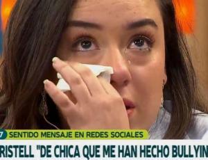 El desconsolado llanto de Christell Rodríguez al revelar que sufrió bullying
