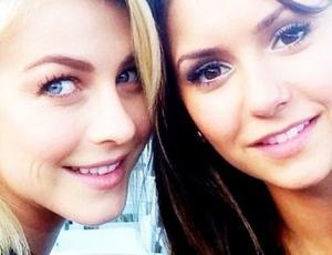 ¿Sabías que Julianne Hough y Nina Dobrev son las mejores amigas?