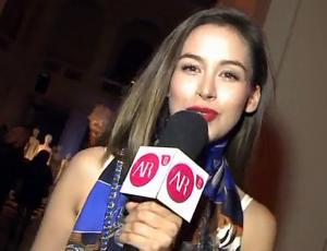 Nicole Putz recorrió todos los rincones del evento de H&M