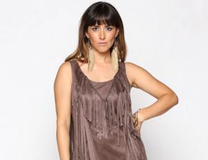 "Lorena Bosch se lució como modelo en ""Bienvenidos"""