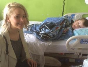 Jennifer Lawrence impacta con millonaria donación a hospital