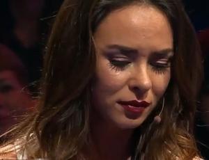 Jhendelyn Núñez rompió en llanto al hablar por primera vez de su relación