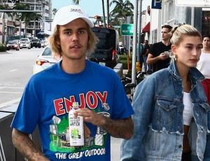 Justin Bieber y Hailey Baldwin se burlan de los paparazzis
