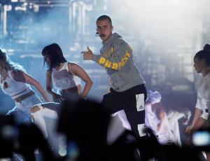 Justin Bieber hizo vibrar a 50 mil fanáticos en el Estadio Nacional