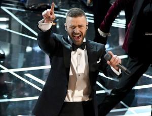 Justin Timberlake fue el encargado de la obertura de los Oscars