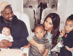 Confirman que Kanye West y Kim Kardashian esperan su cuarto hijo