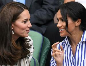 ¿Se pusieron de acuerdo? Kate Middleton y Meghan Markle usan look similar