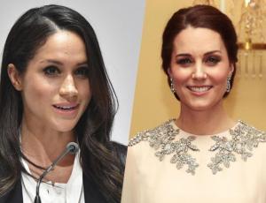 Meghan Markle y Kate Middleton lucieron exclusivos diseños de Alexander McQueen