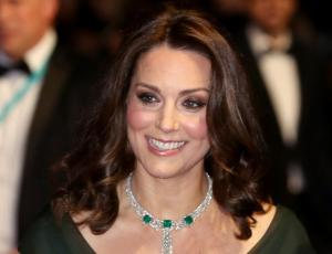 "Kate Middleton hace guiño al movimiento ""Time's Up"" en los BAFTA 2018"
