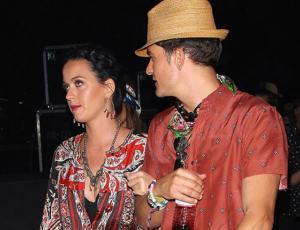 El cariñoso fin de semana de Katy Perry y Orlando Bloom en Coachella