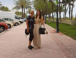 Las vacaciones de Kel Calderón y Raquel Argandoña en fotos