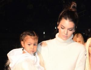 El aplaudido regalo que Kendall Jenner le hizo a su sobrina North