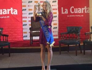 ¡Ya es oficial! Kika Silva fue coronada Reina de Viña 2017