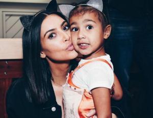 Así Kim Kardashian demuestra que su hija es la reina del contouring