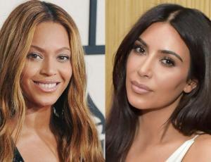 Kim Kardashian copia look sadomasoquista de Beyoncé