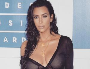 Kim Kardashian se desabrocha el pantalón para Instagram