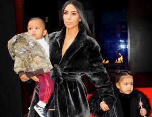 Kim Kardashian defiende el corsé que le puso a su hija North
