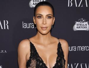 5 transparencias con las que Kim Kardashian dejó a la vista su nuevo cuerpo