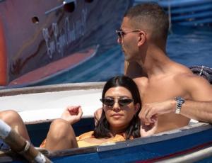 Kortney Kardashian disfruta de unas románticas vacaciones en Italia