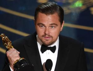 Leonardo DiCaprio será presentador en los Premios Oscar