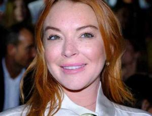 El mini vestido metálico con que Lindsay Lohan celebró sus 32 años