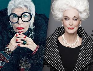 Las dos longevas que siguen inspirando la moda.