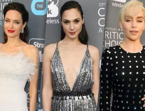 Los looks de las celebridades en los Critics' Choice Awards