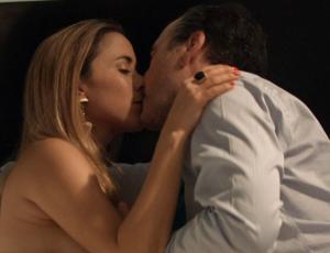 La comentada escena hot que protagonizaron Cristián Campos y Lorena Bosch