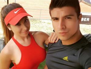 Nicole Moreno se fue de vacaciones al caribe con su ex pololo